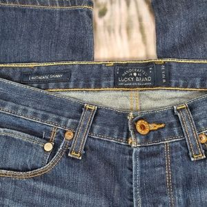 Lucky Brand Jeans - Lucky Brand Authentic Skinny Button Fly Jeans